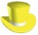 Желтая шляпа