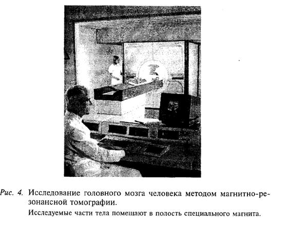 Исследование головного мозга методом магнитно-резонансной томографии